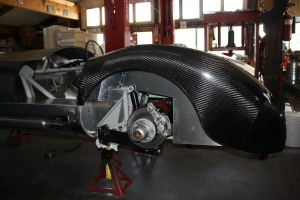 Interior fender panels on C-Type